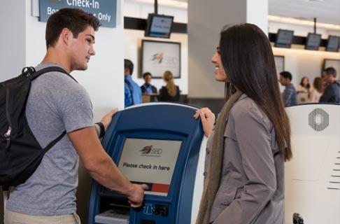 Domestic Terminal – Ticketing