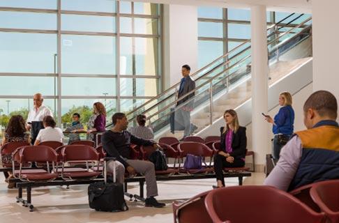 Terminal Internacional – Área de espera